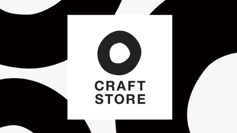 CRAFT STORE ロゴをリニューアルしました。